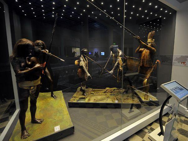 Pentru prima oara, Antipa tine expozitii afara, pe trotuarul din fata Muzeului