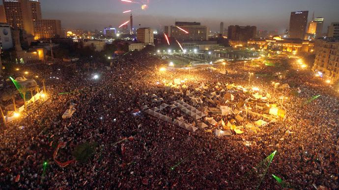 Egypt Erupts