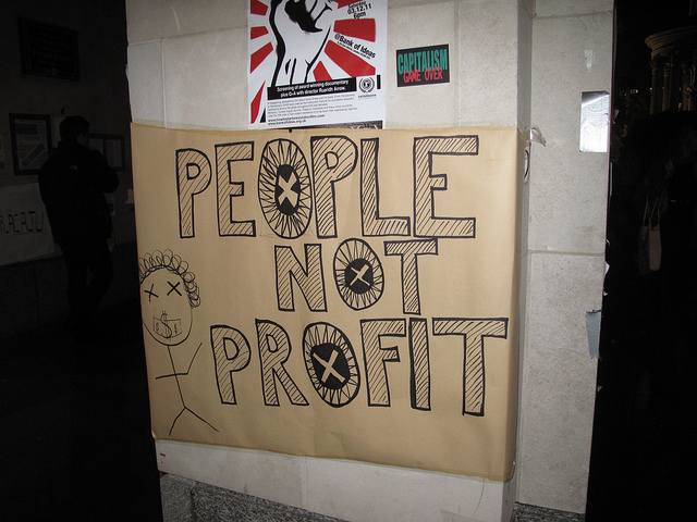 Russell Brand: Profit is a Filthy Word