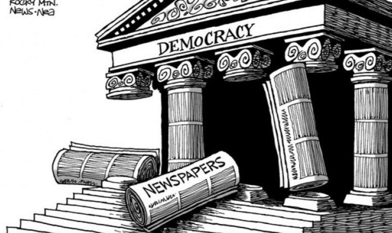 De 'Ziua mondiala a libertatii presei'