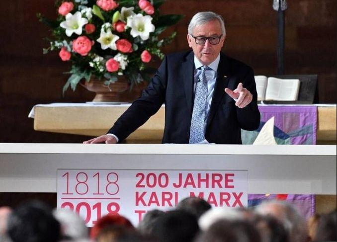 6 mai 2018. Ziua de după. Sper că Juncker e fericit acum.
