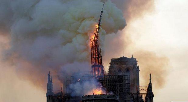 RELATIVISMUL   POSTMODERN  și incediul de la catedrala Notre Dame