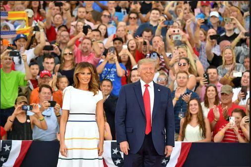 Salute to America – Discursul președintelui Trump