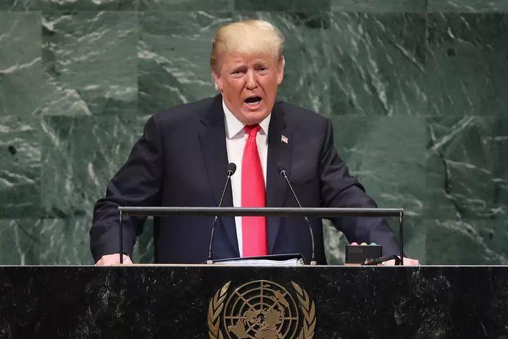 Viitorul apartine patriotilor. Trump la ONU, 2019.