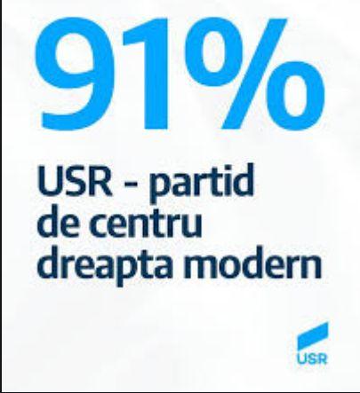 USR- centru dreapta modern???